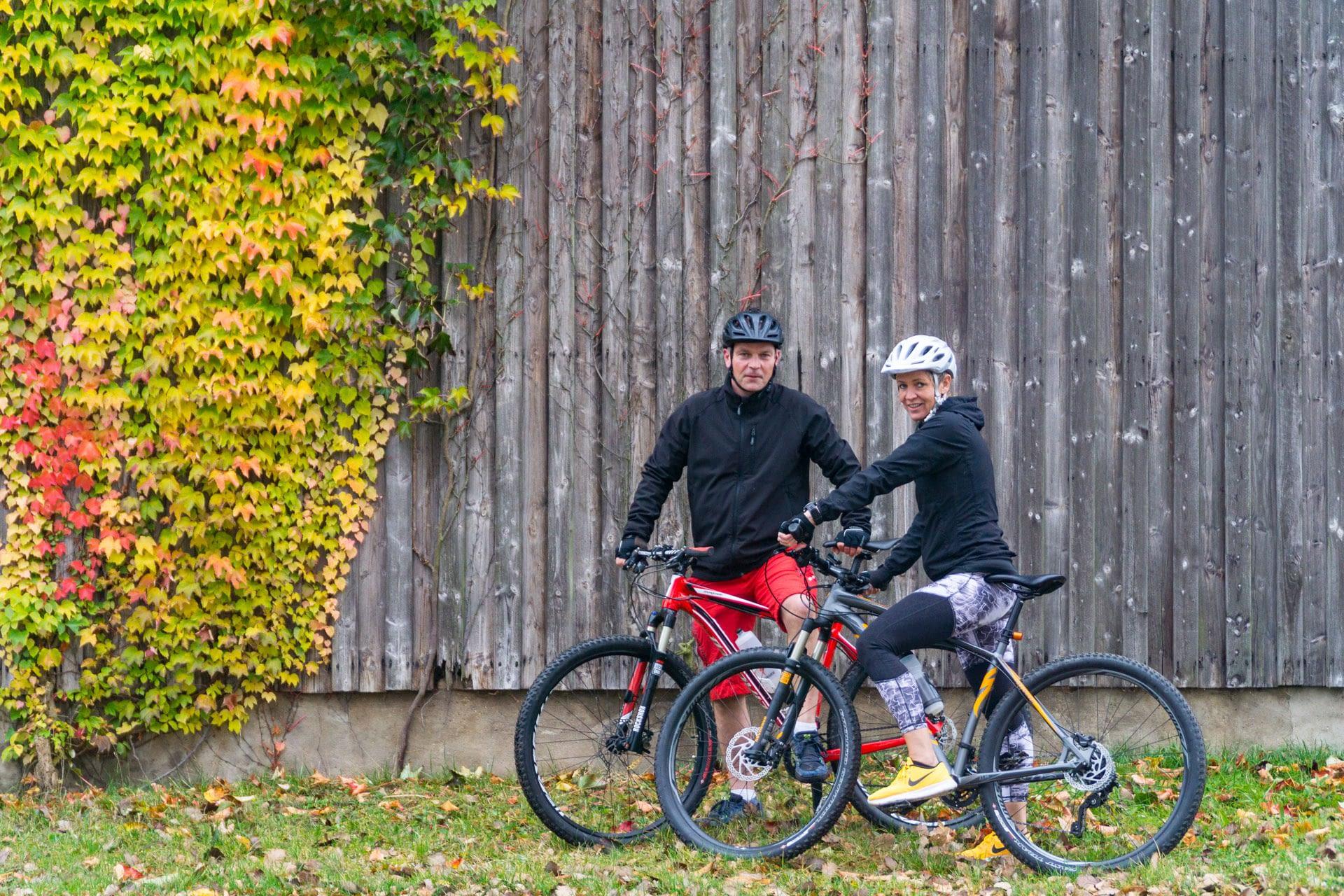 Lars D. und seine Frau Britta P. sind beide privat leidenschaftliche Radsportler und beruflich im Polizeidienst tätig.